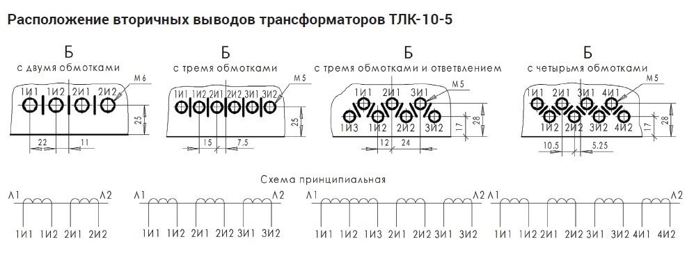руководство по эксплуатации трансформатор тока тлк-10 - фото 7
